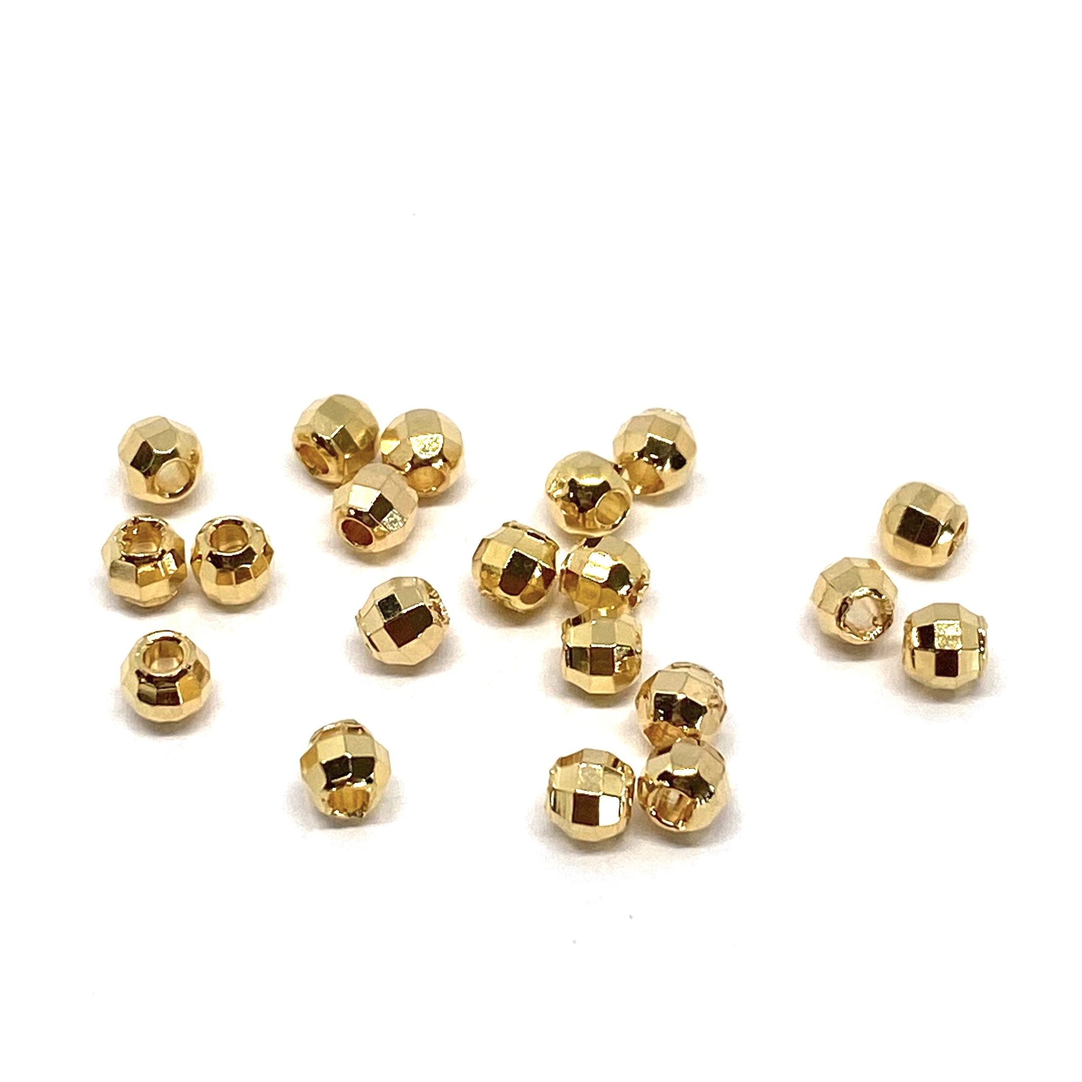 18 karat ægte guldbelagte dele