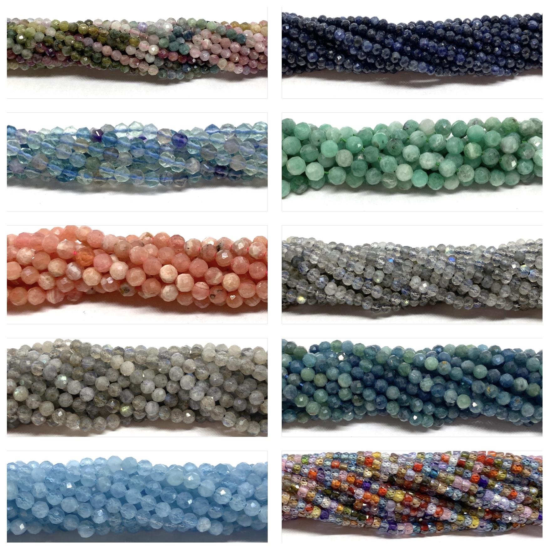 Ædelstens seed beads