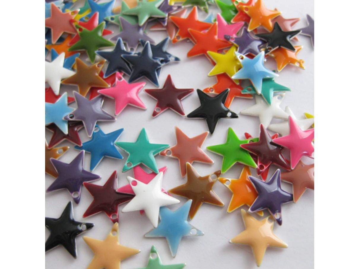 12mm emalje stjerner