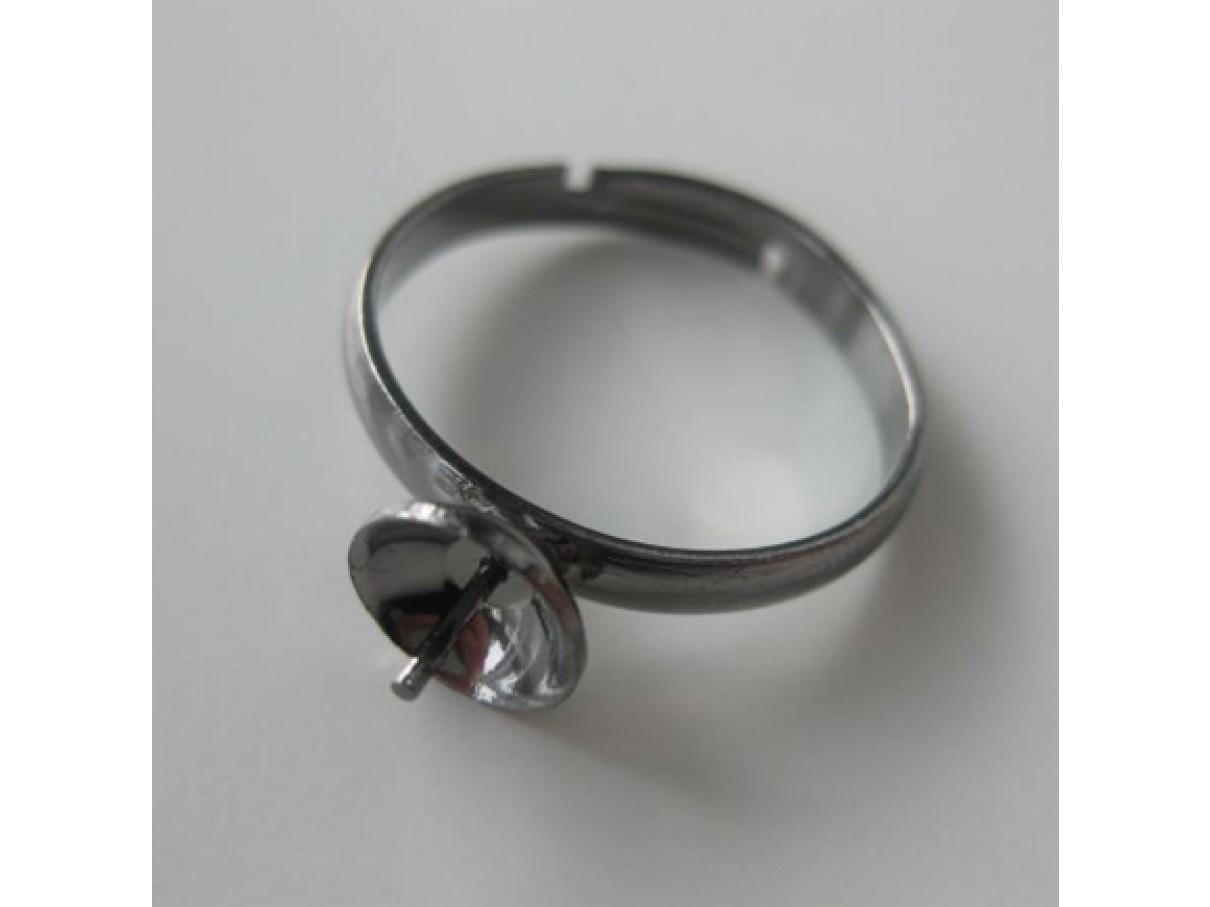 Justerbarfingerringtilanboretperlegunmetal-0