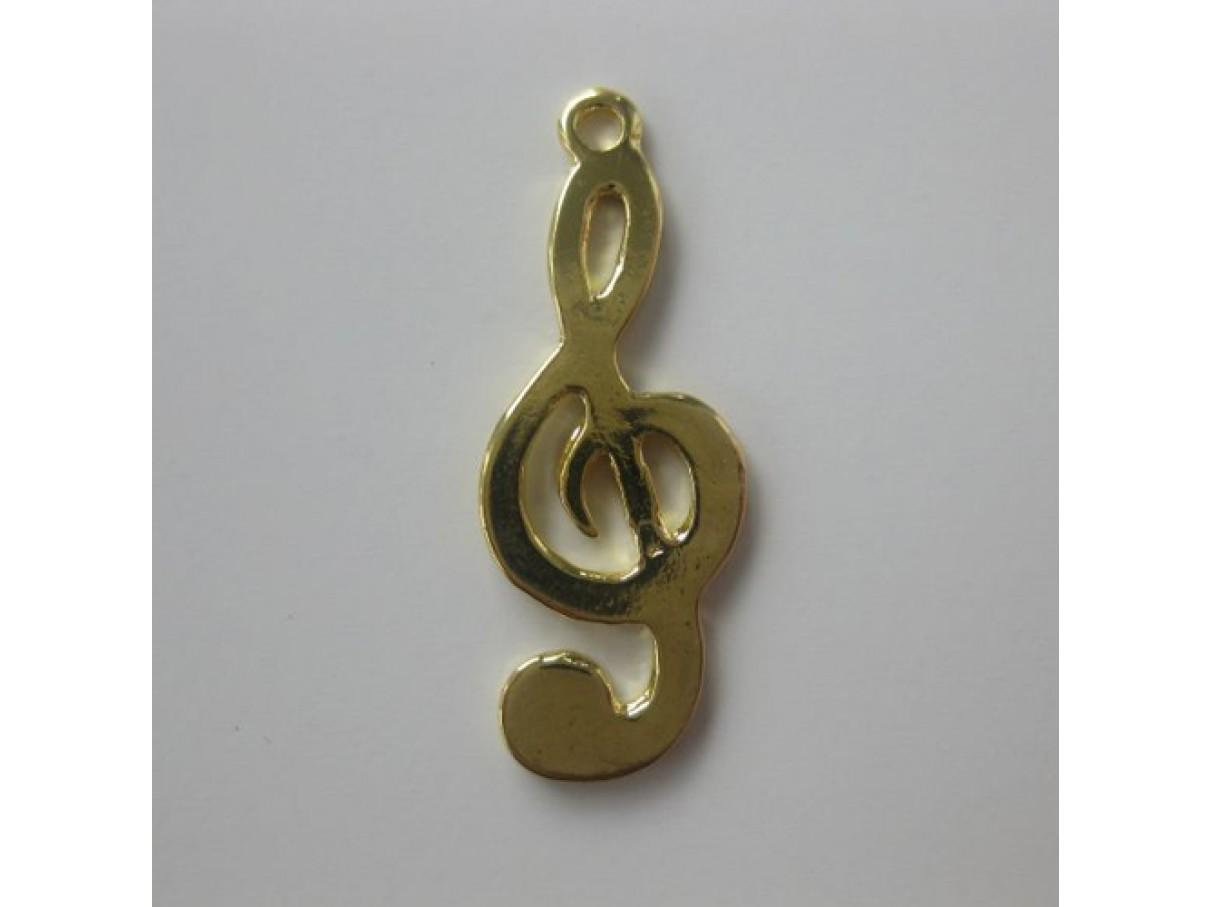 Guld g-nøgle
