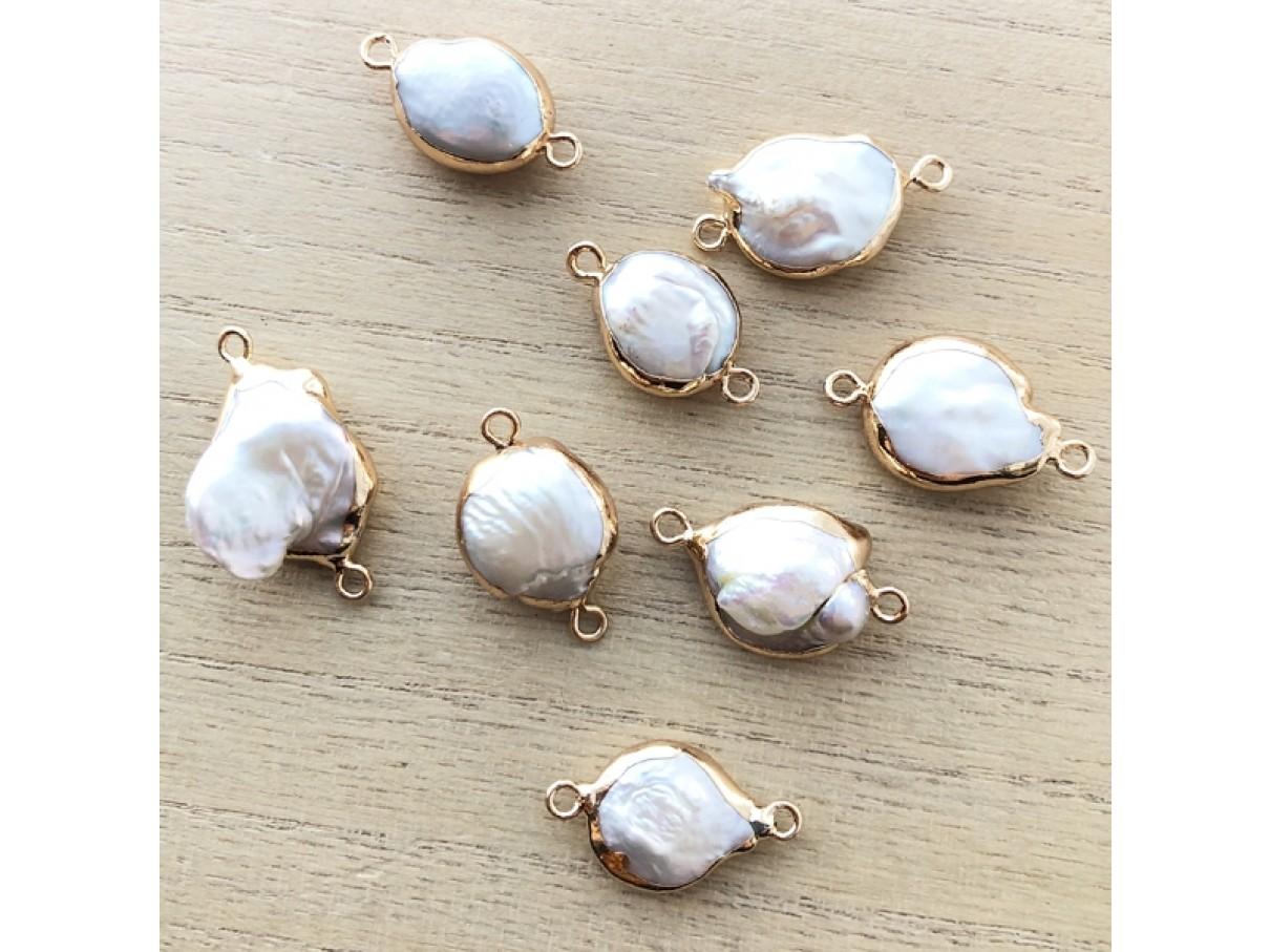 barok perler med guld