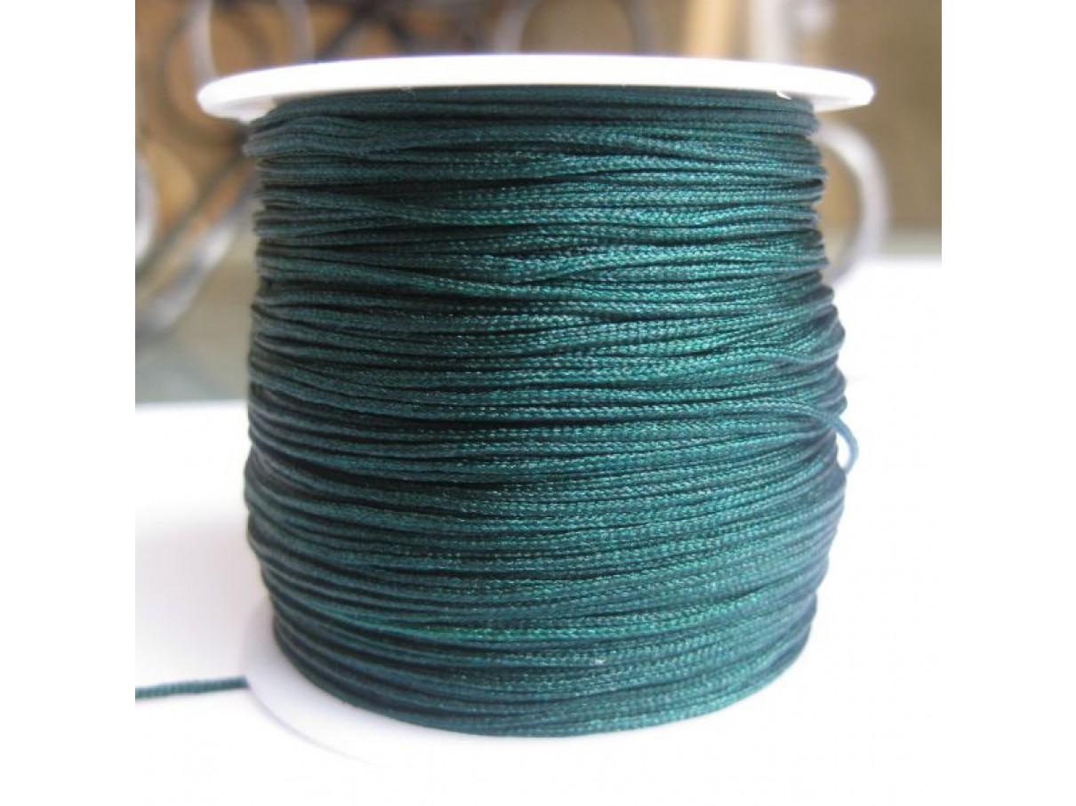 1,0mm nylon knyttesnor, grøn