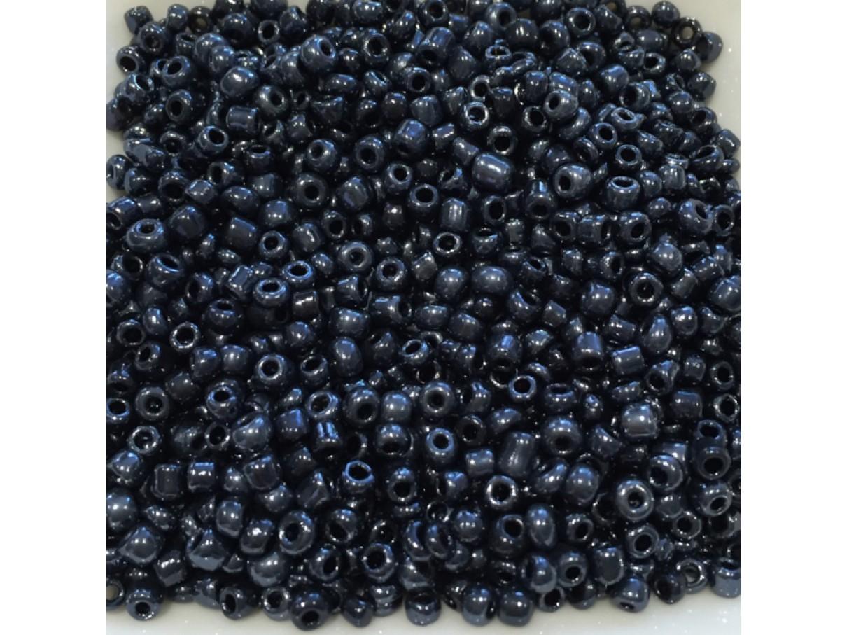 8/0 Glas seed beads, sort 2-3mm, 10g