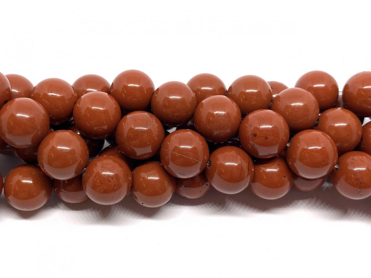 Red stone, rund 10mm