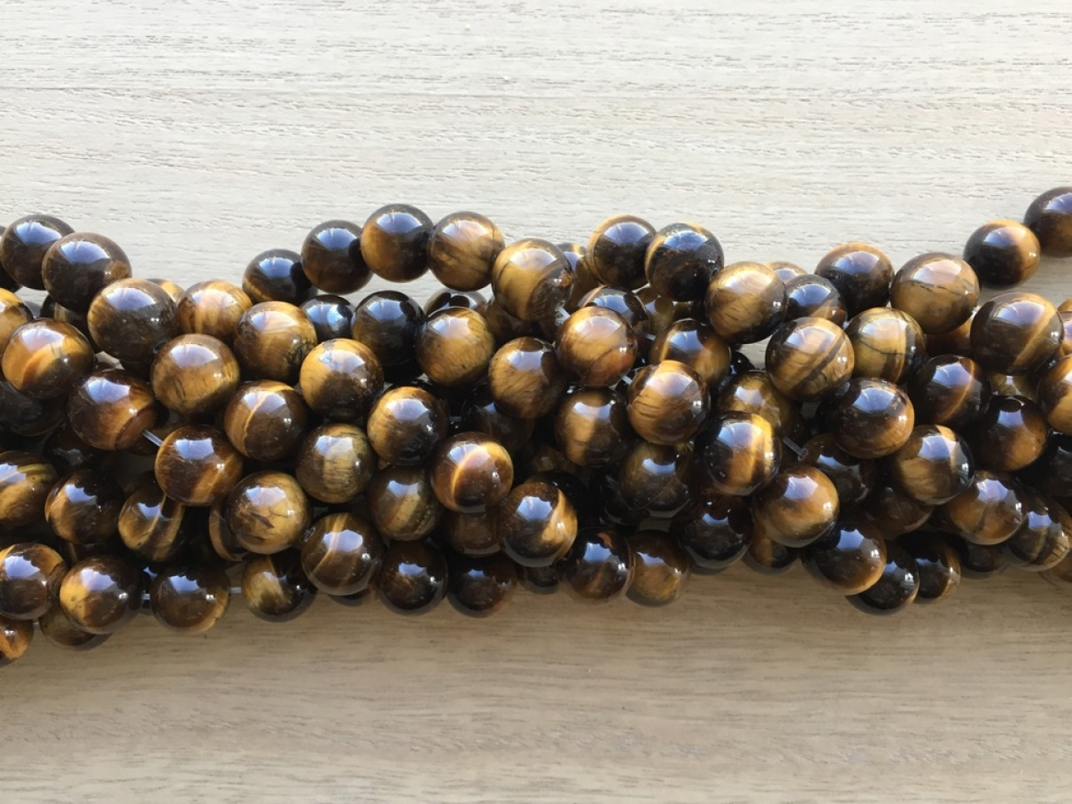 12mm tigerøje perler
