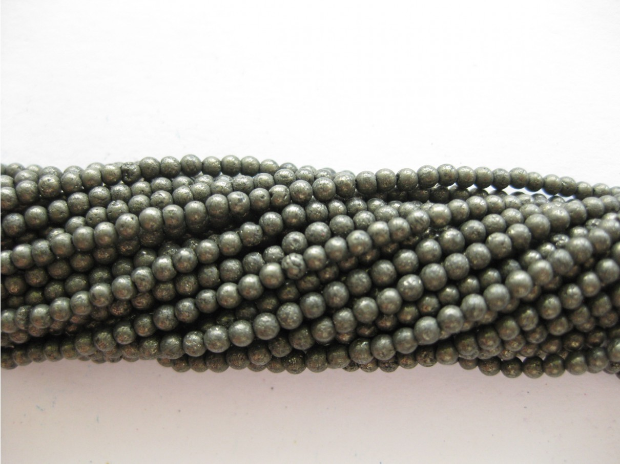 3mm pyrit perler