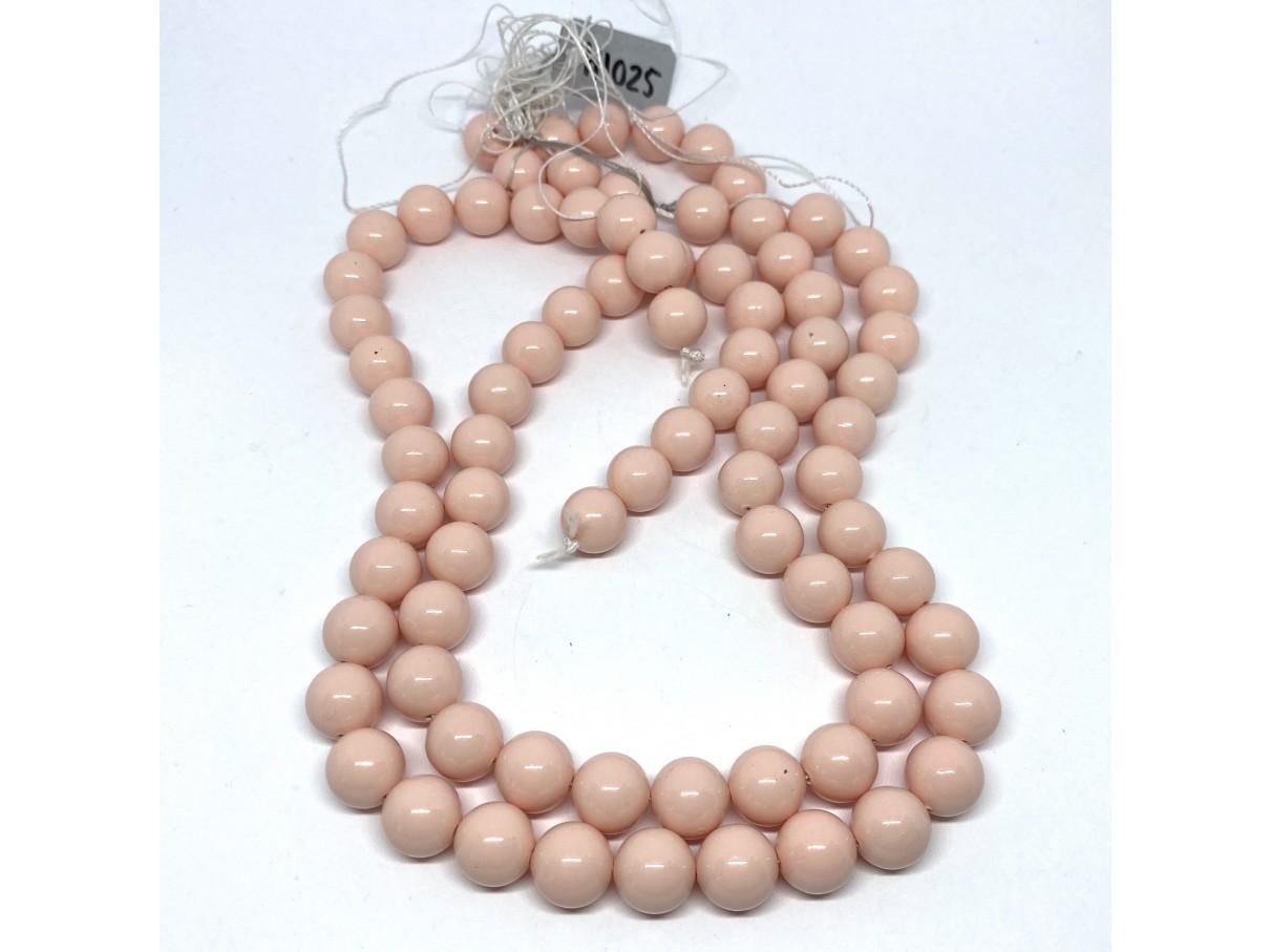 Shell pearl, fersken 10mm-01