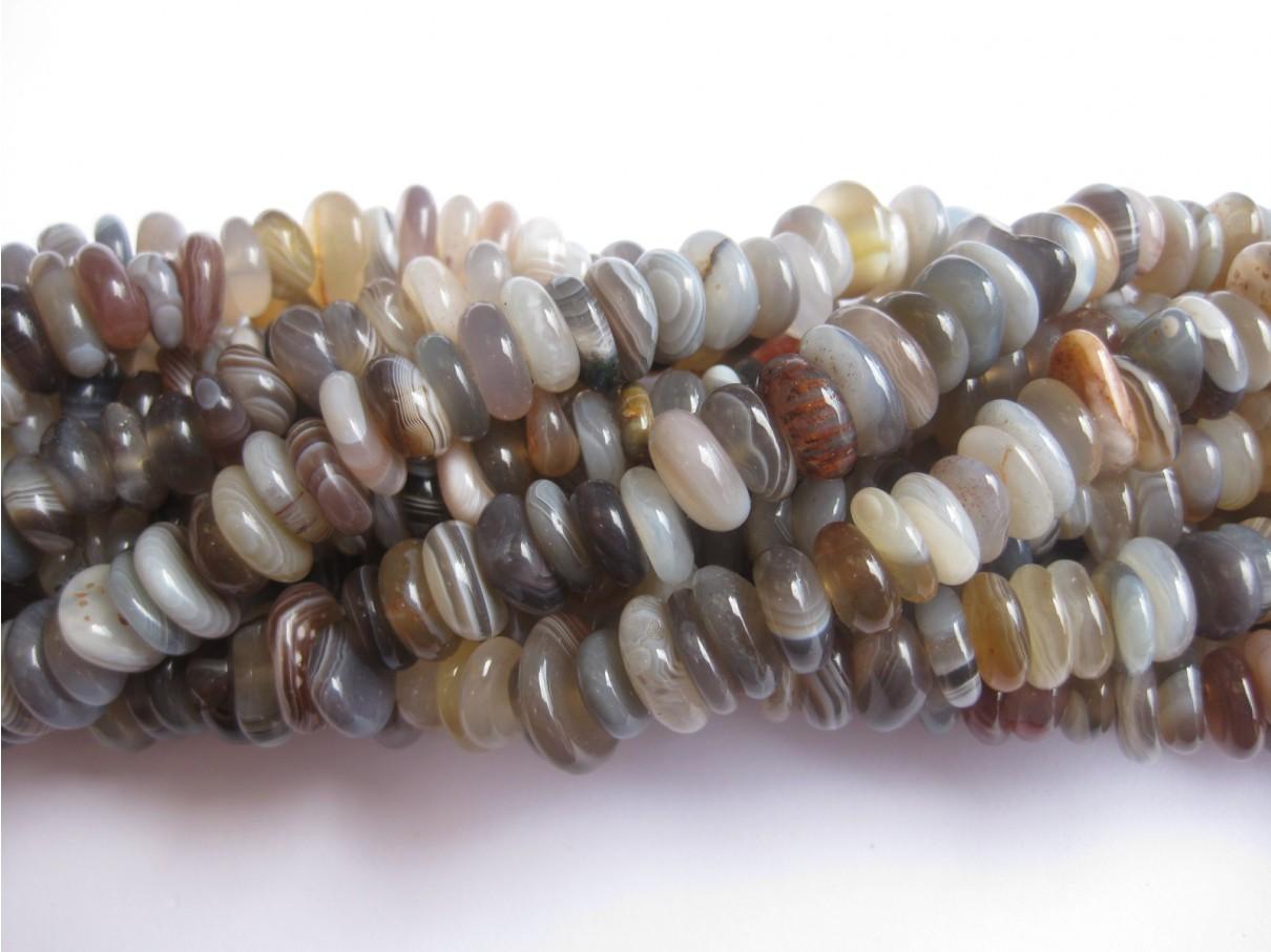 Botswana agat perler