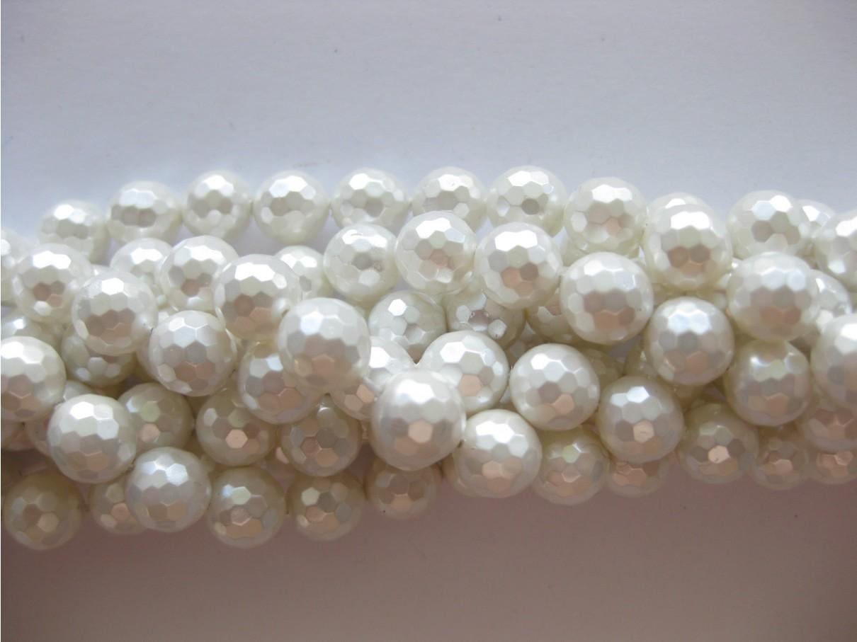 facetslebne shell perler
