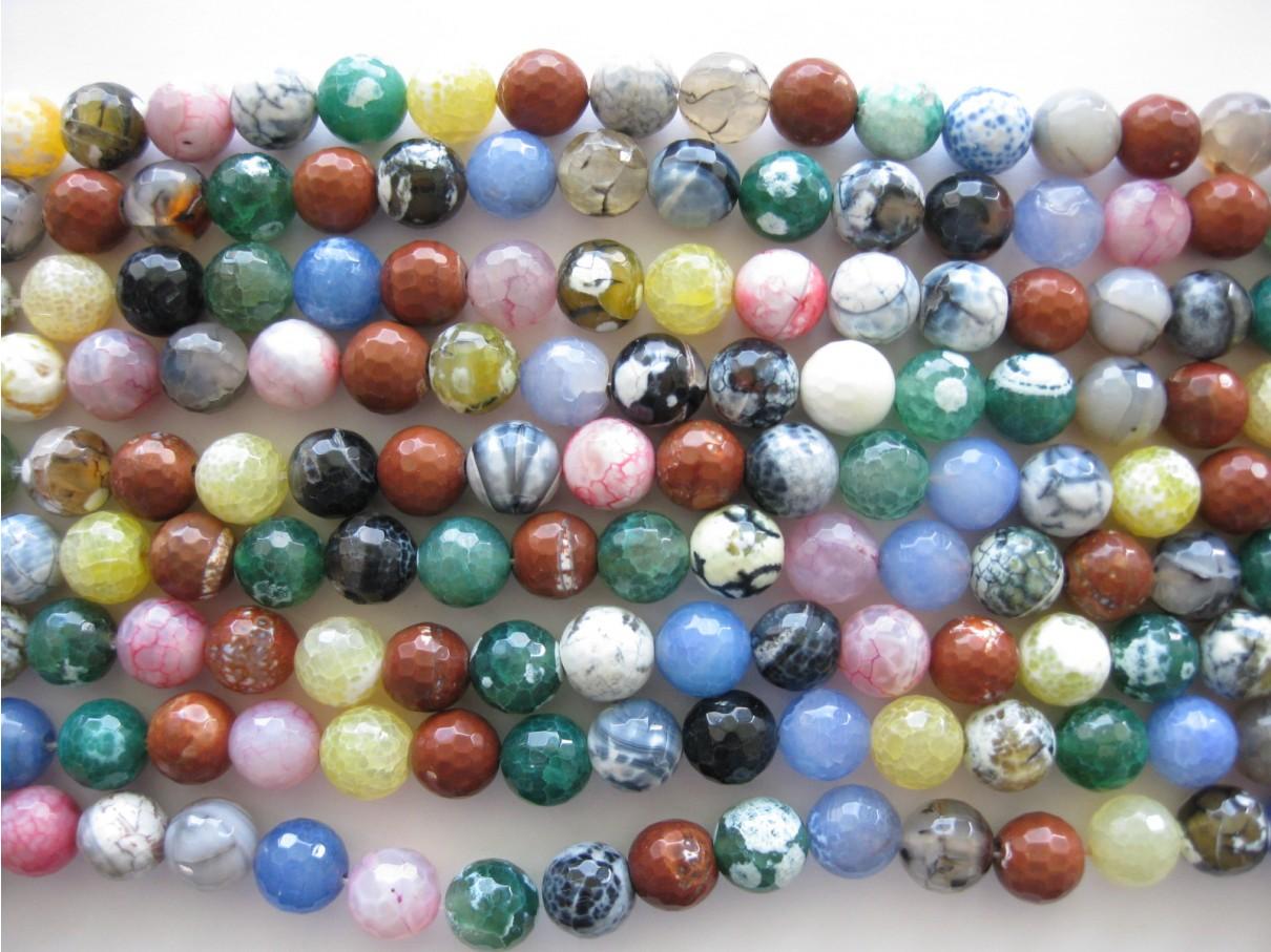 14mm facetslebne perler