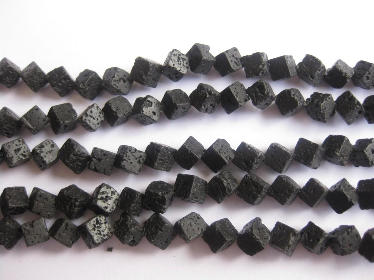 Lava, hjørneborede terninger 6mm-3