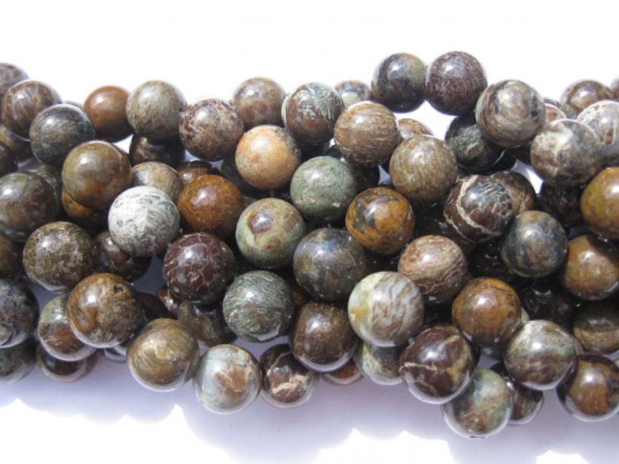 slangeskinds jaspis perler