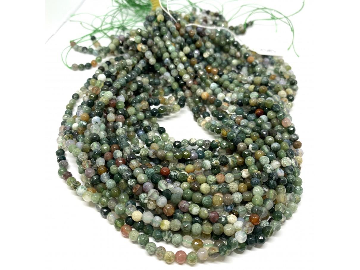 fansy jaspis perler 4mm