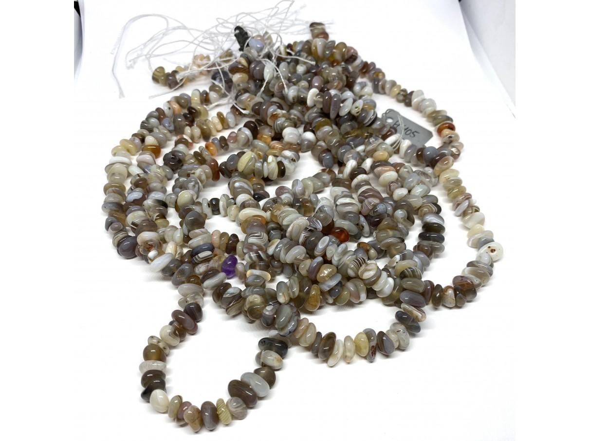 perler af botswana agat