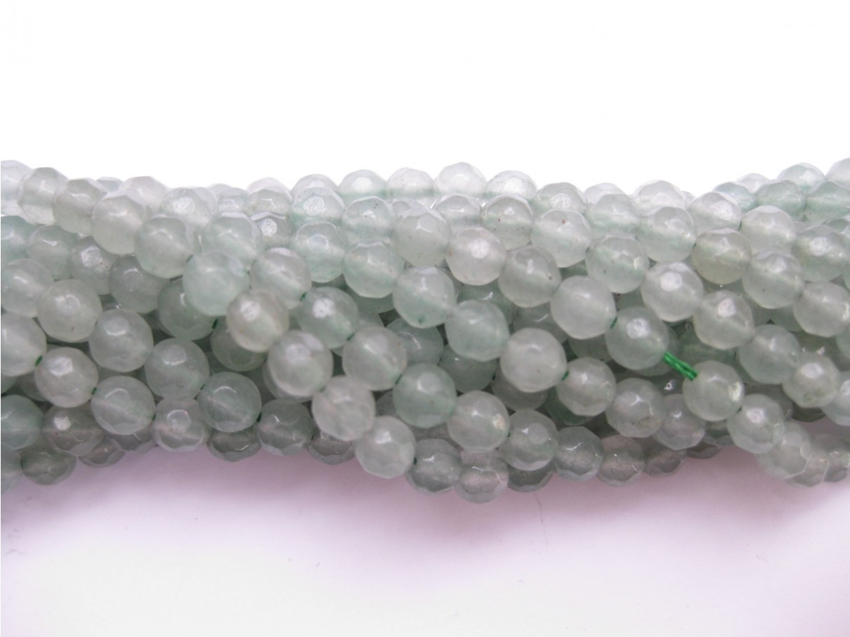 perler af grøn aventurin