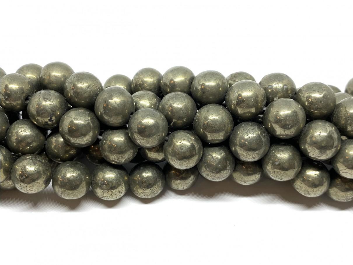 Pyrit, rund 10mm
