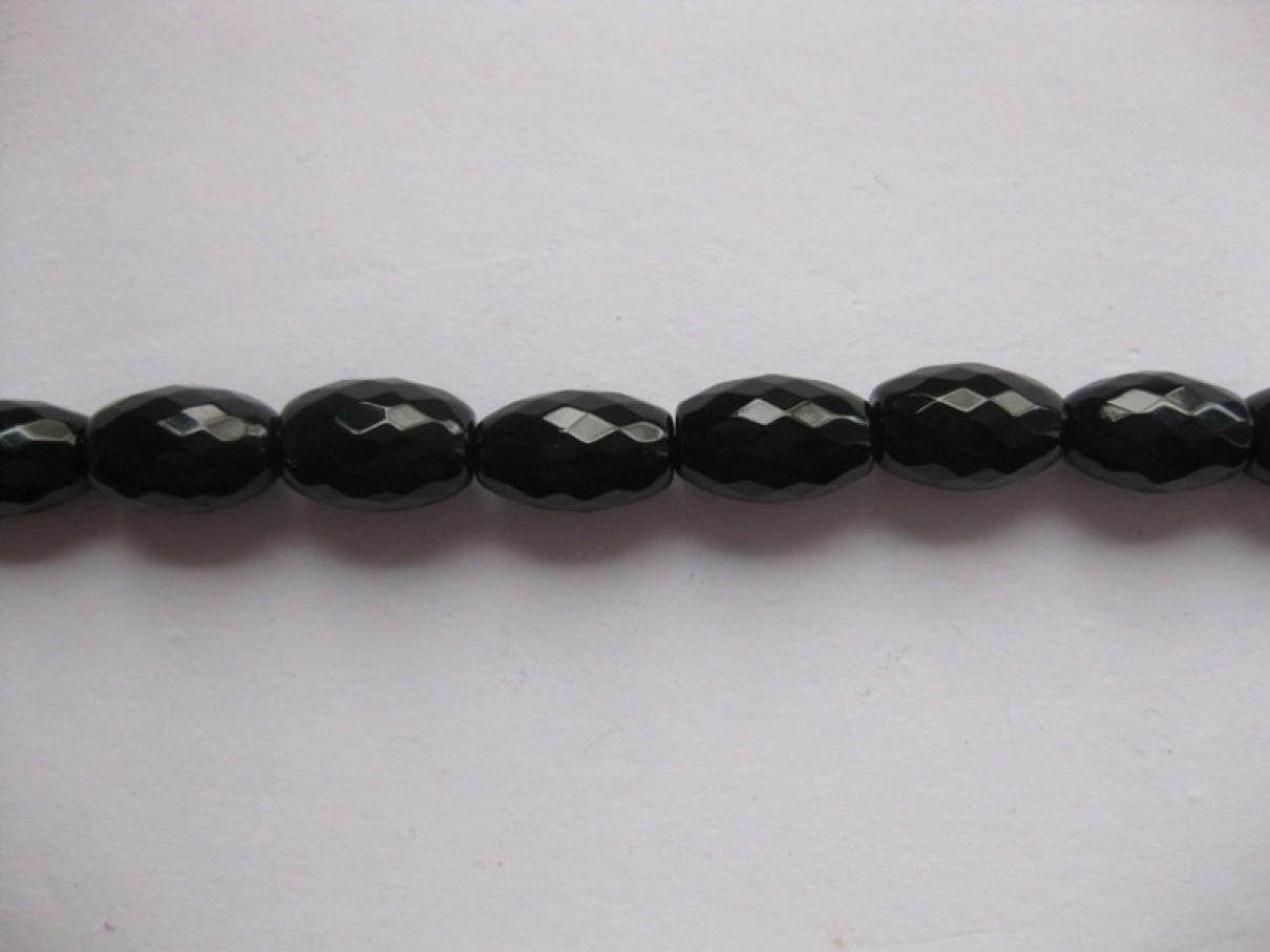 Risformede perler af onyx