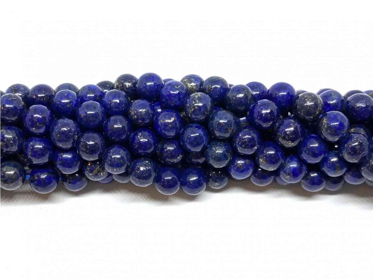 Lapis Lazuli, rund 6mm