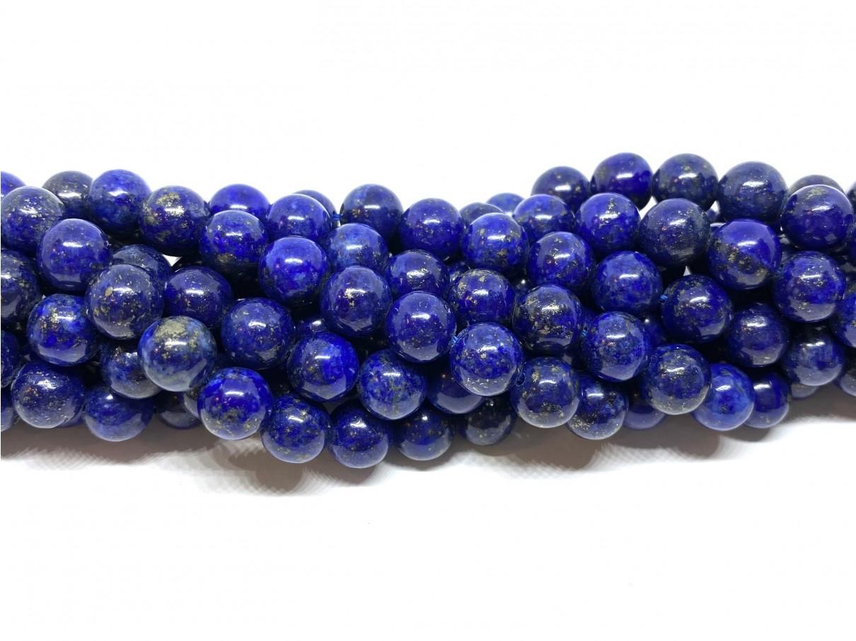 Lapis Lazuli, rund 8mm