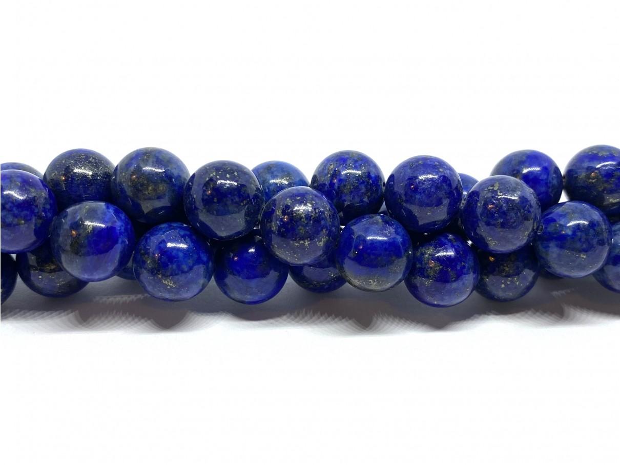 Lapis Lazuli, rund 10mm