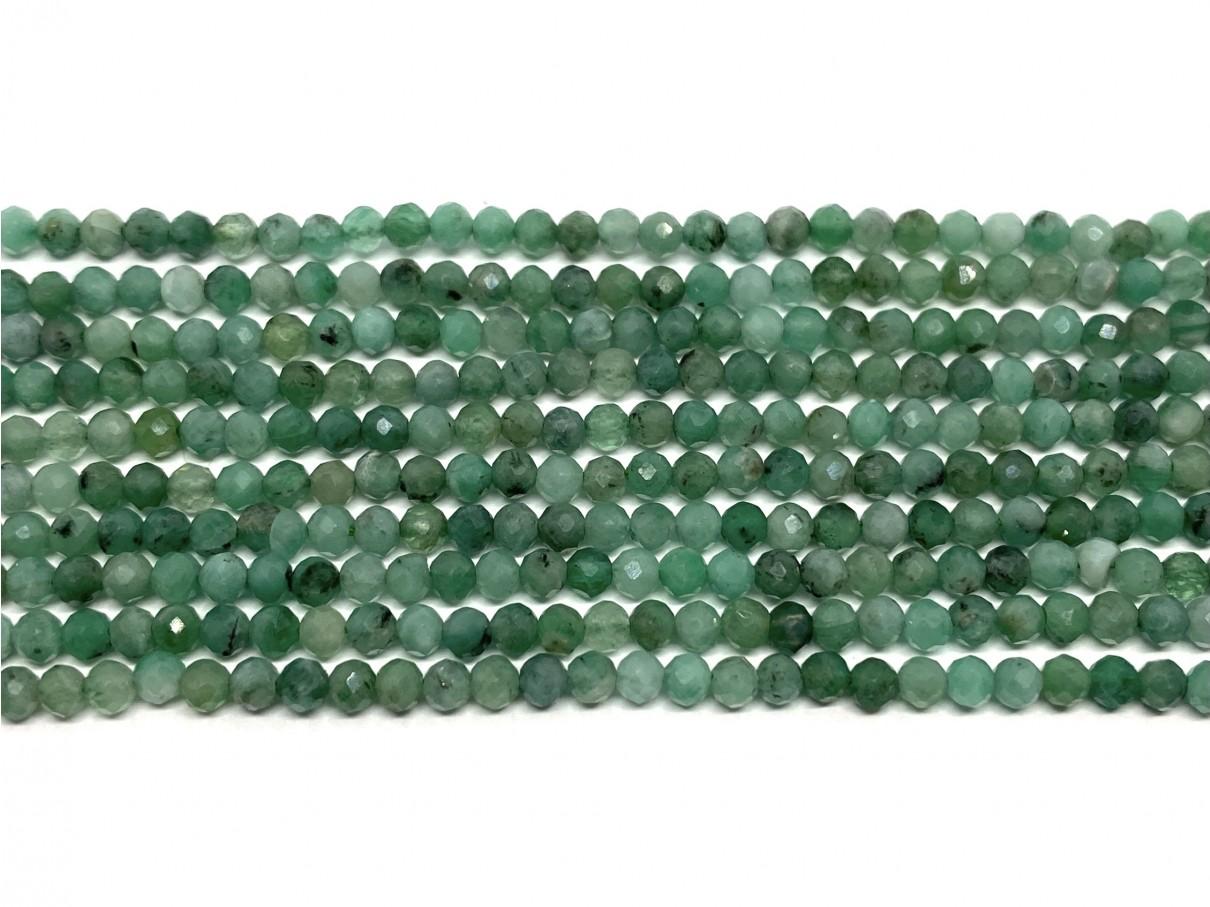 3mm smaragd perler