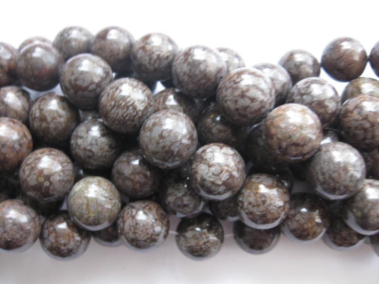 brune perler til smykker