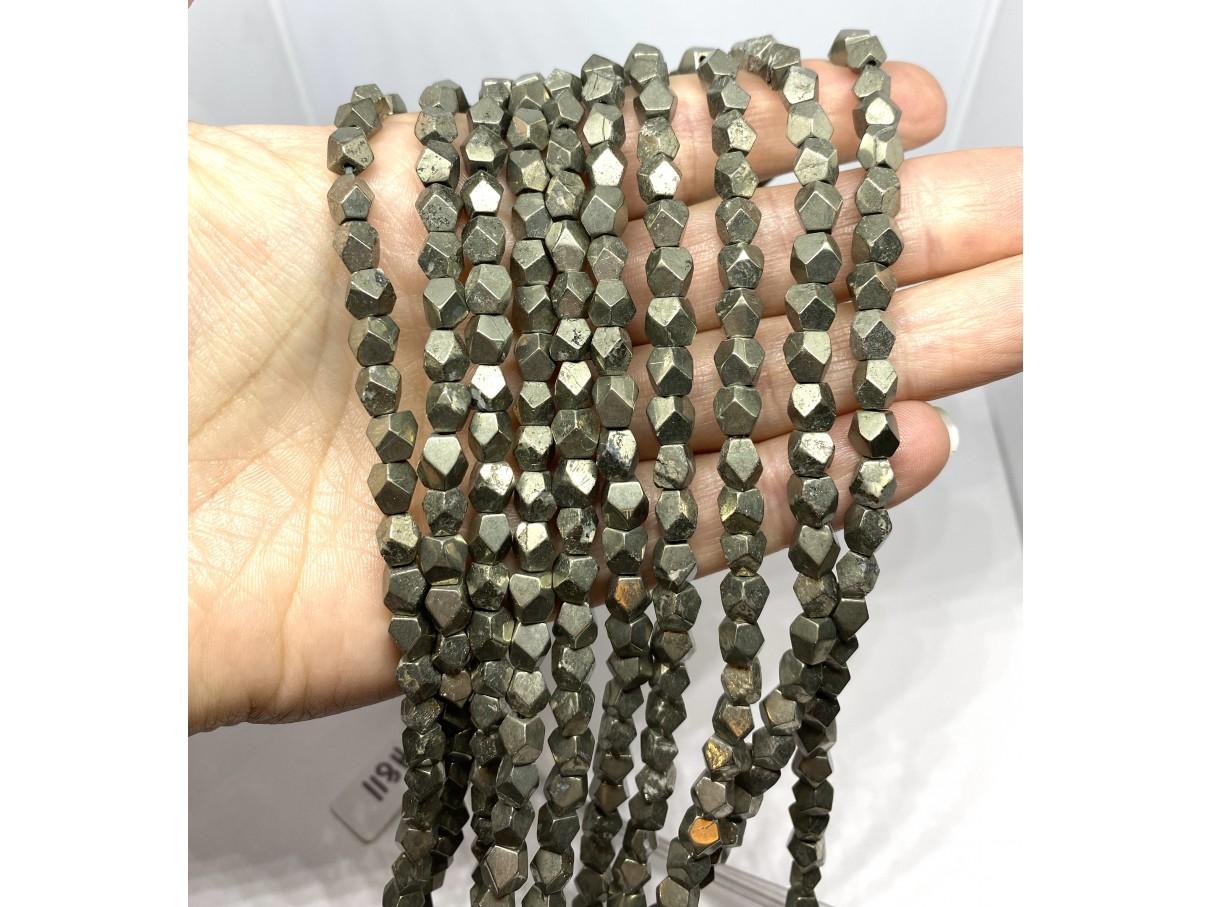 pyrit slebne nuggets perler