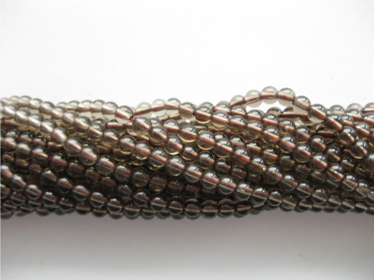 røgkvarts perler