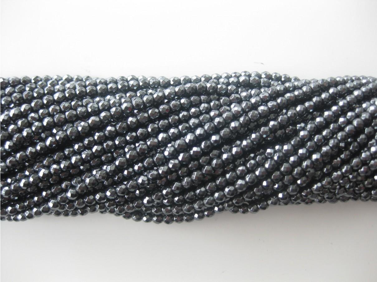 facetslebne perler 2mm