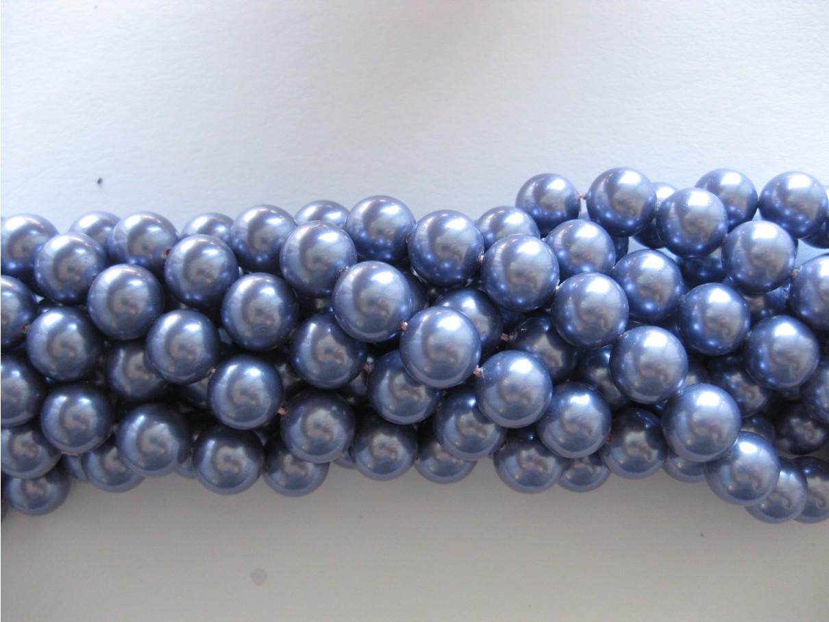 Shell pearl, lavendel 10mm