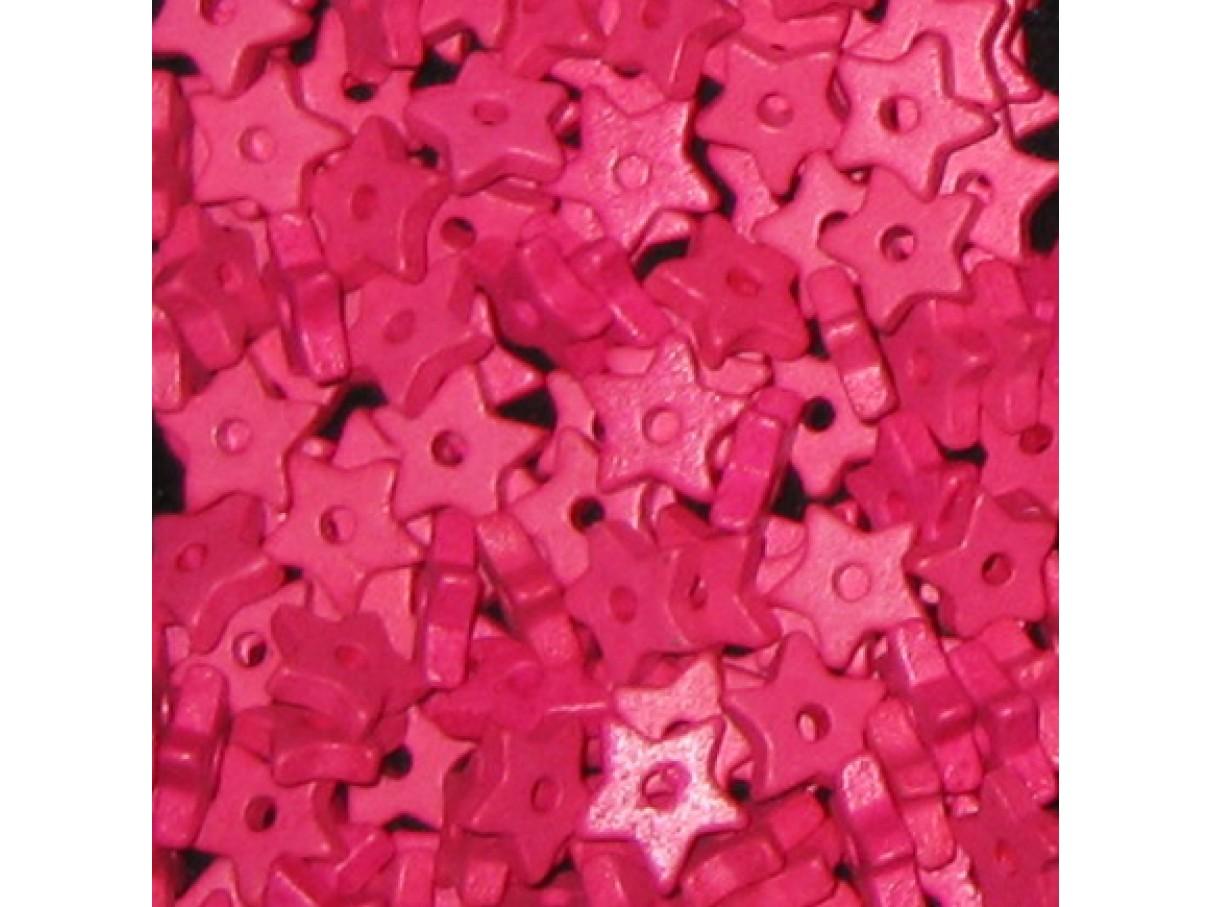 9mm keramikstjerne, pink