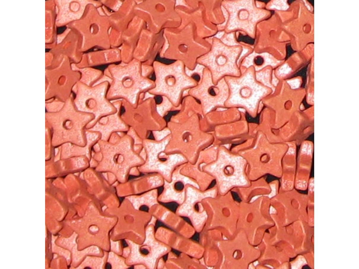 9mm keramikstjerne, koral