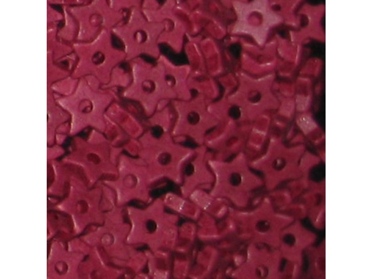 9mm keramikstjerne, bordeaux