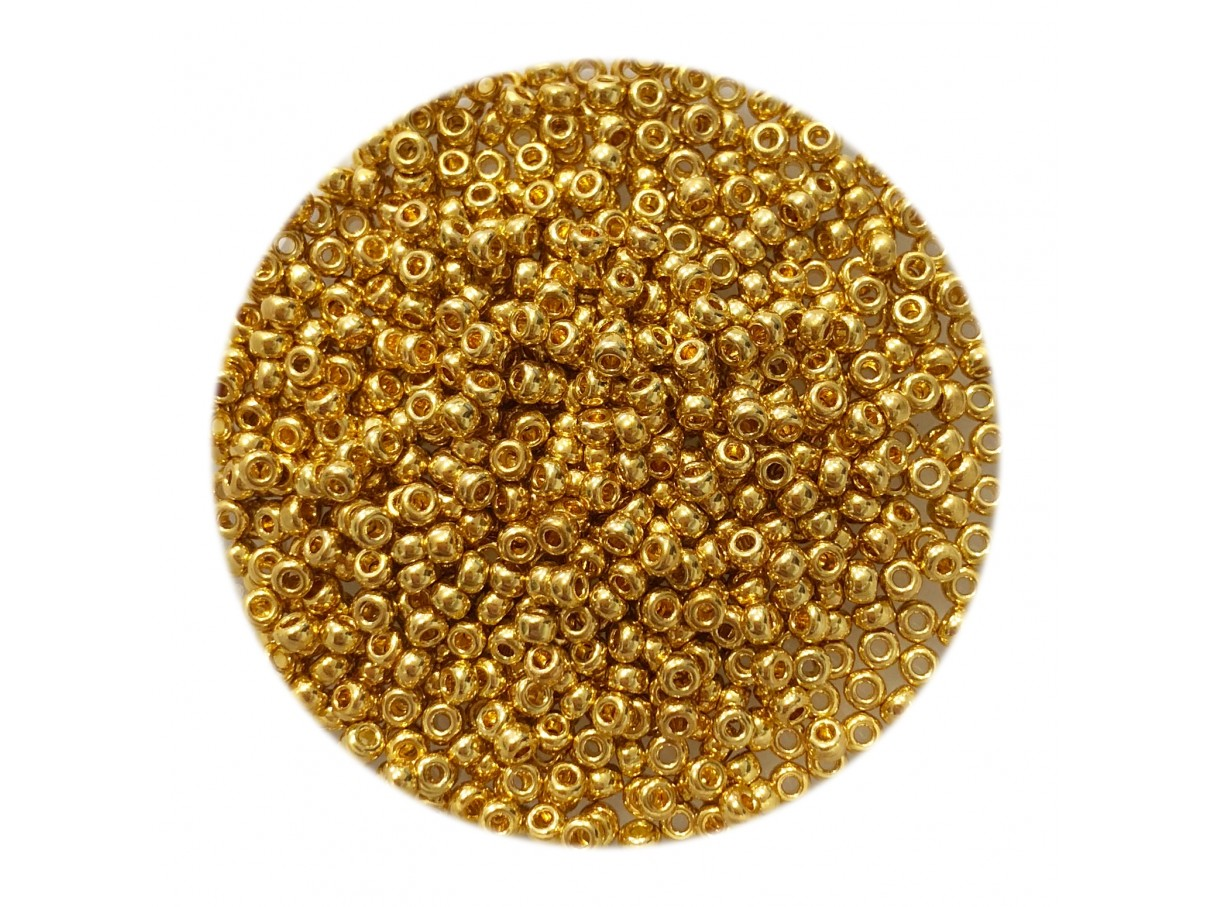 guld miyuki seed beads 11/0