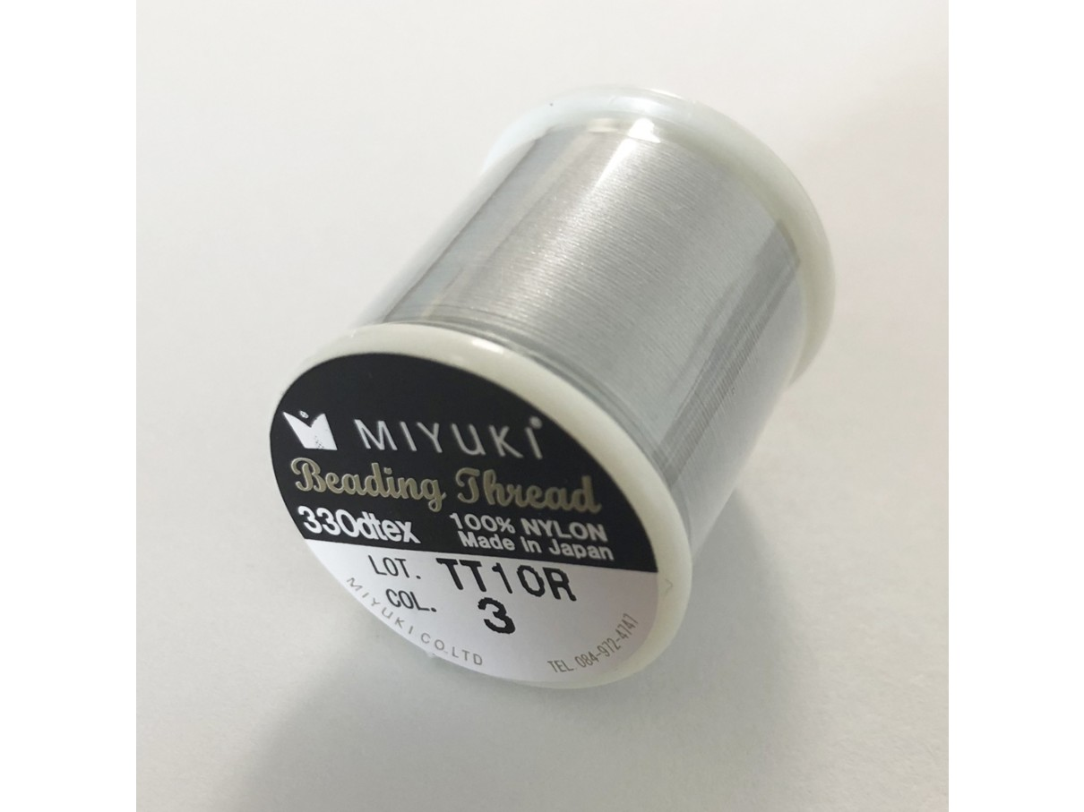 sølv miyuki sytråd