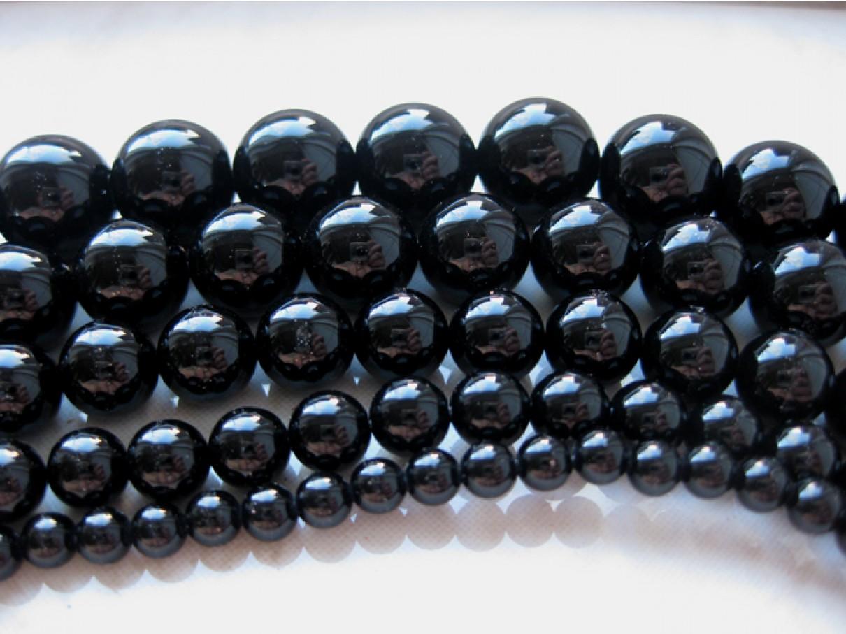 12mm rund onyx