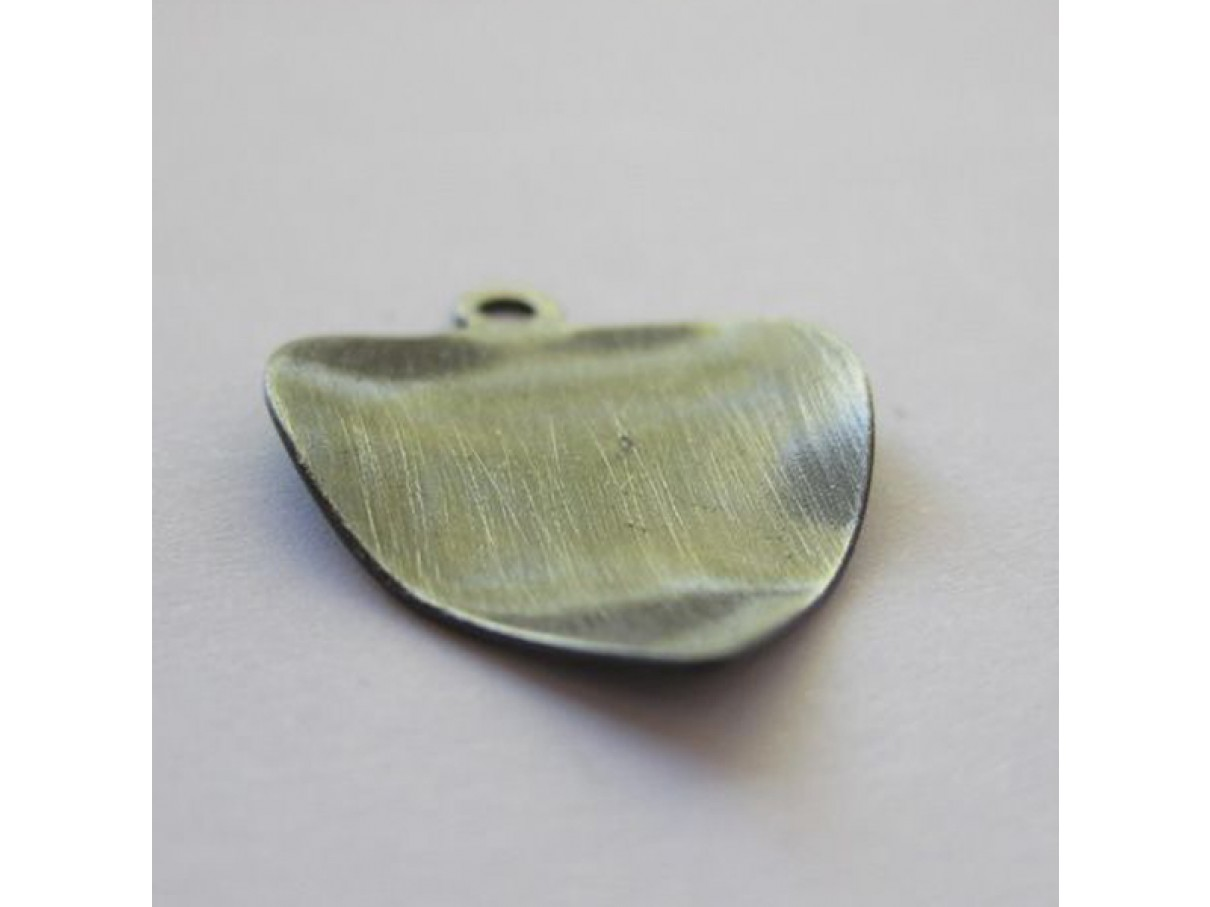 Sølvbelagt blad