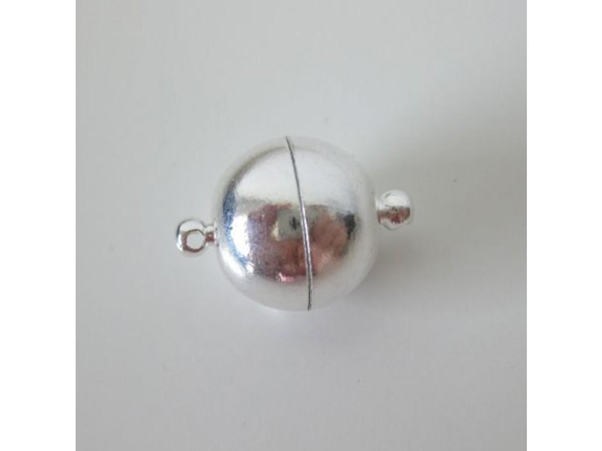 16mm Sølvbelagt magnet kuglelås-3