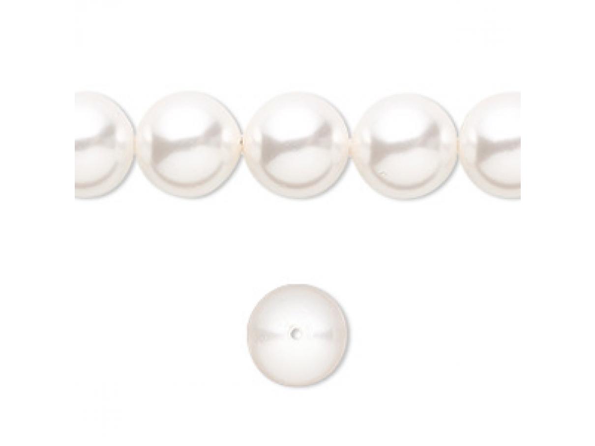 10mm hvide swarovski perler