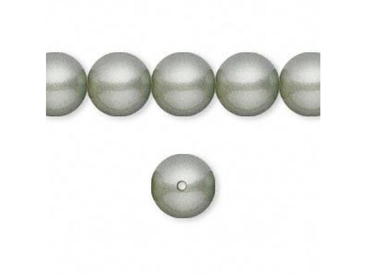 Swarovski® crystal pearl, 10mm rund, powder green