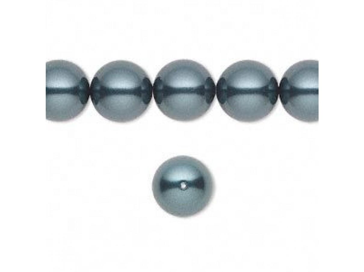 Swarovski® crystal pearl, 10mm rund, tahitian