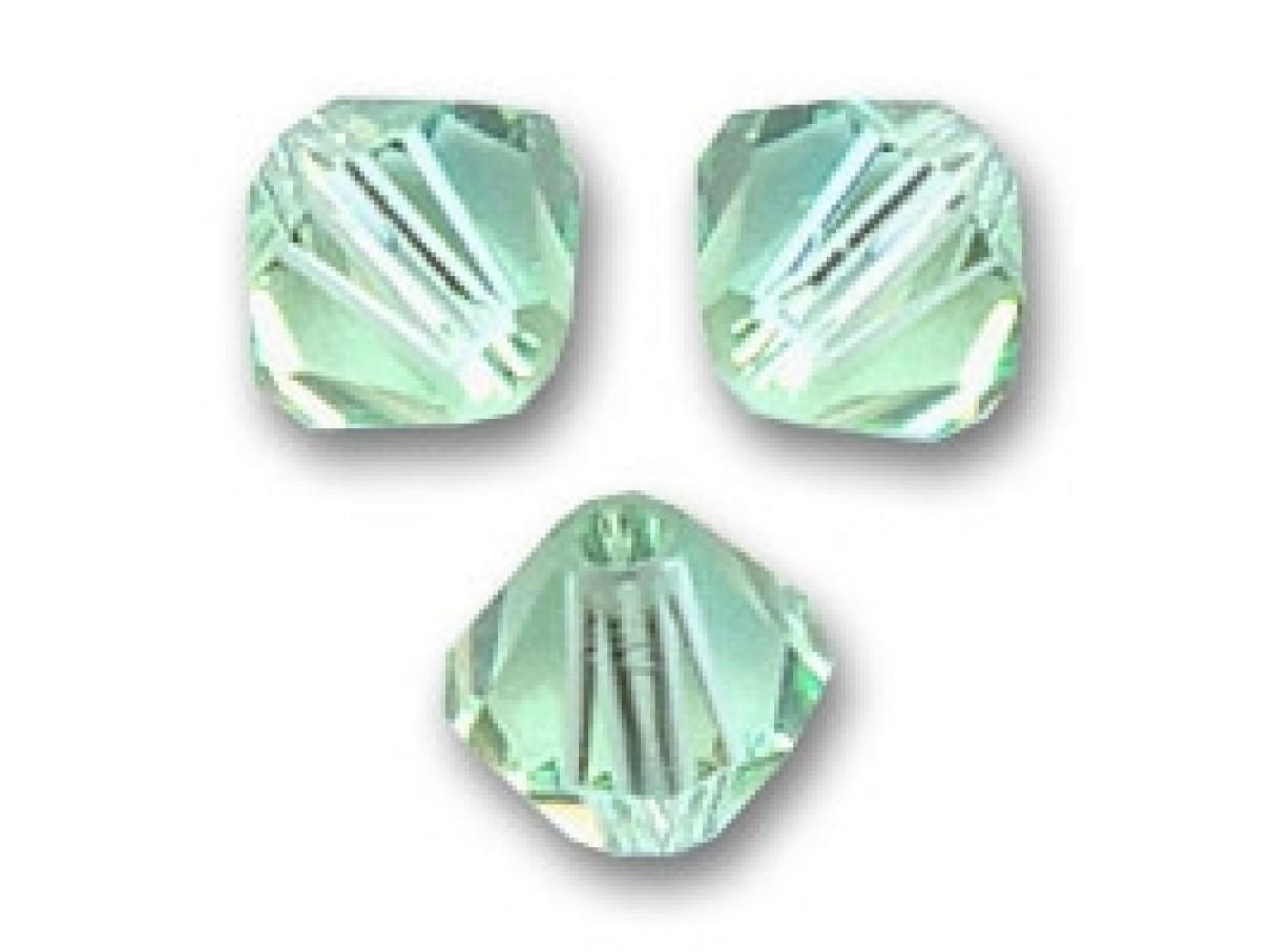 4mm swarovski bicones chrysolite