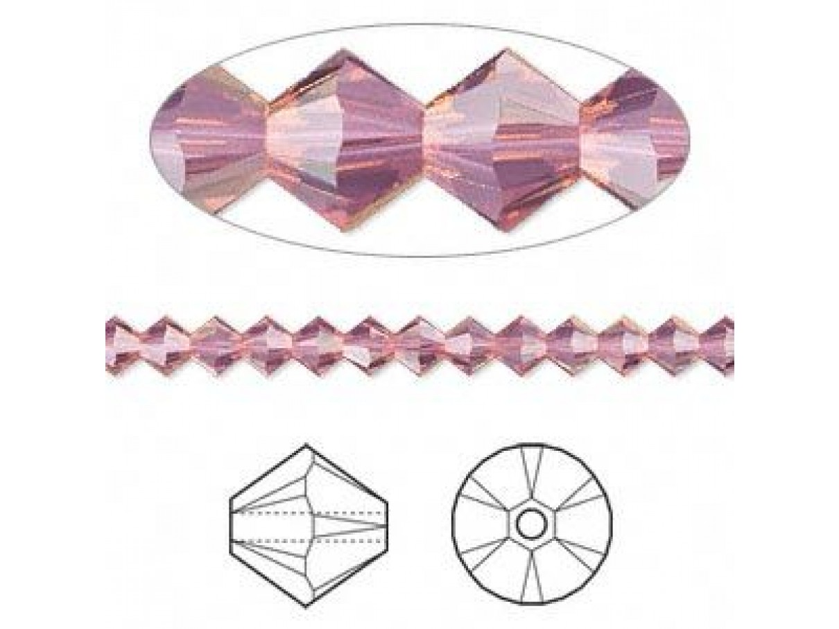 swarovski krystaller lilla