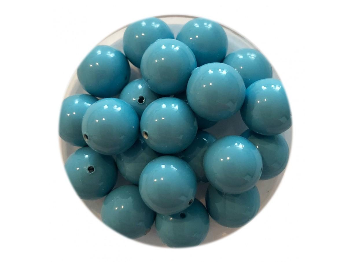 Swarovski crystal pearl, Turquoise, 8mm rund