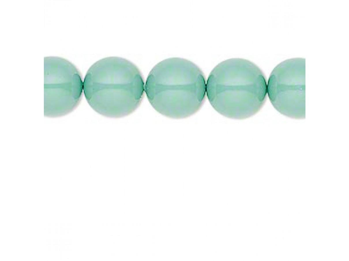 Swarovski® crystal pearl, Jade, 10mm rund
