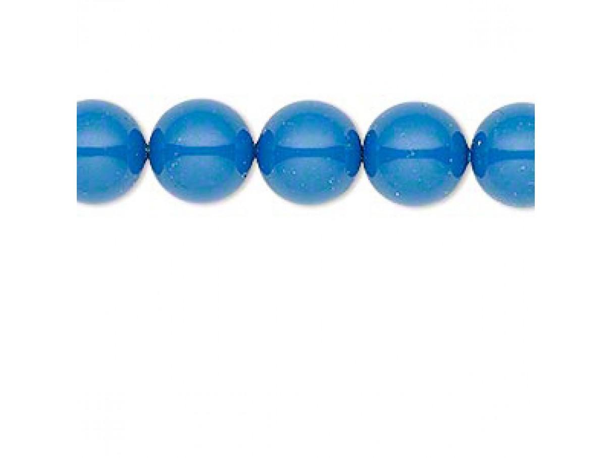 Swarovski® crystal pearl, Lapis, 10mm rund
