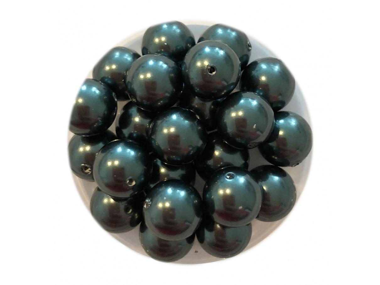 Swarovski crystal pearl, Tahitian, 8mm rund