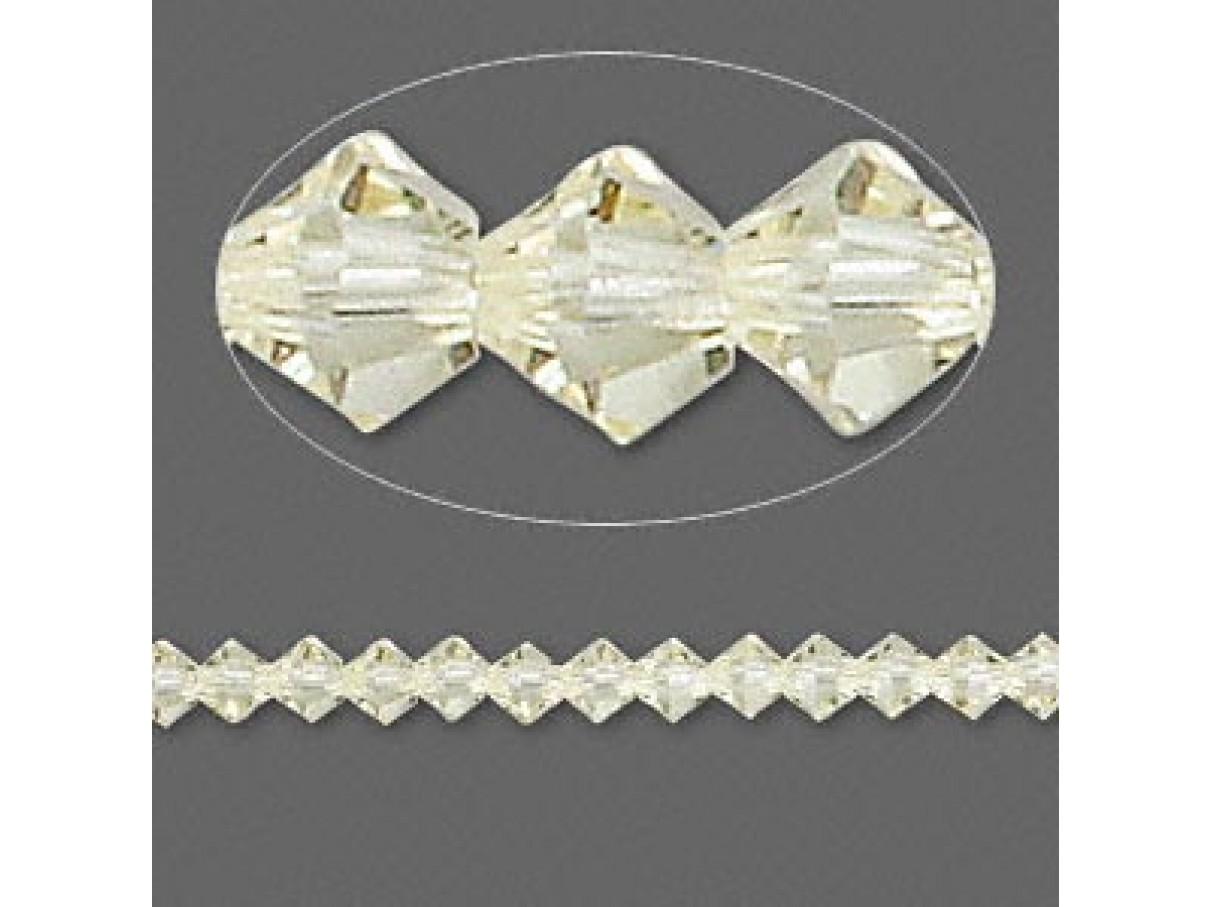 swarovskicrystal4mmbiconejonquil10stk-30