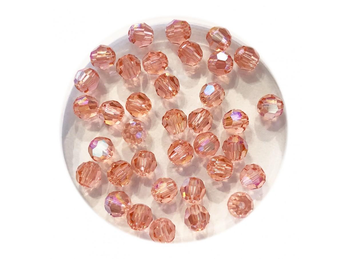 4mm swarovski krystal facetslebet rund